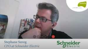 Stephane Suveg CFO at Schneider Electric