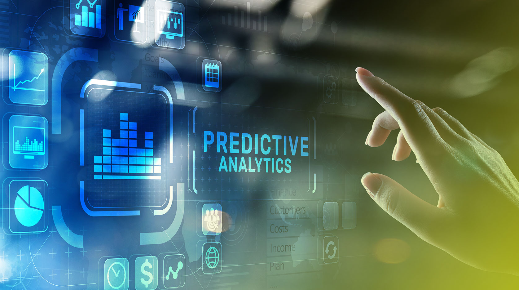 Managing commodities and forex volatility risk with predictive analytics
